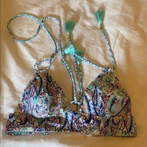 bathing suit top multi color